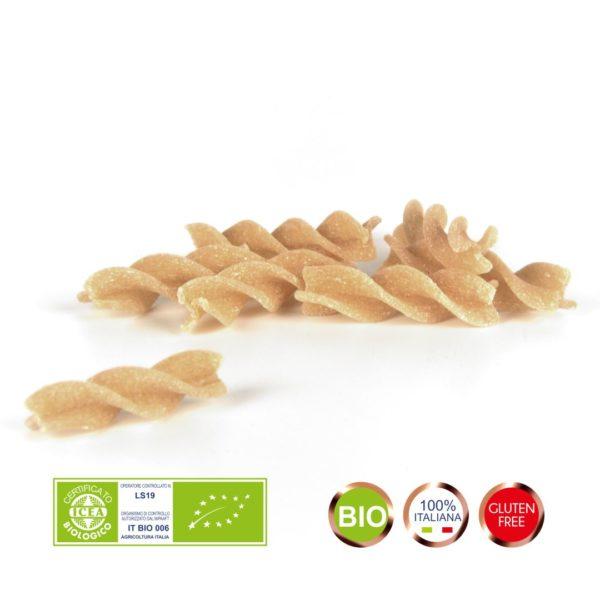 Produzione e Vendita pasta biologica con farina di RIso Integrale.