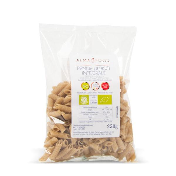 Penne di Riso Integrali - Alma Food
