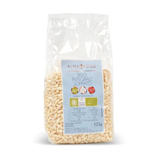 Riso Integrale Soffiato Biologico Senza glutine - Alma Food
