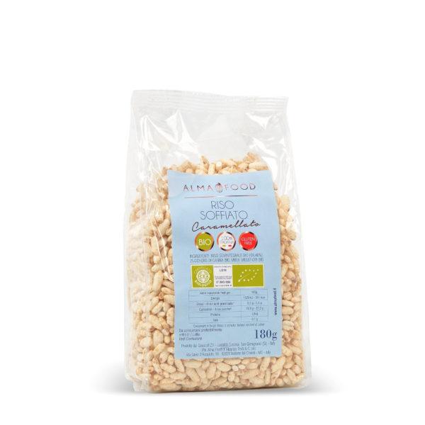 Riso Soffiato Caramellato Biologico - Alma Food